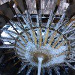 寒い冬限定の見所スポット~氷の水車~
