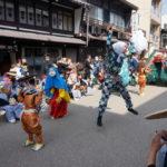 郡上八幡の春祭り~三神社による大神楽奉納~