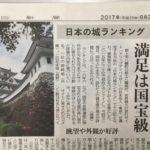 郡上八幡城 「日本の城ランキング」で13位獲得!