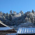 雪景色の郡上八幡も見事です