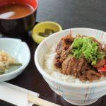 流響の里レストランの新メニュー第1弾「飛騨牛のどて丼」!
